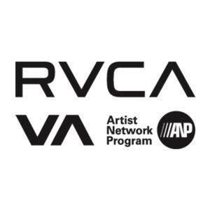 RVCA logo mighty moe skateshop skateboard blois anp artist network program